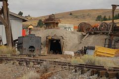 World Museum of Mining exhibit in Butte, MT
