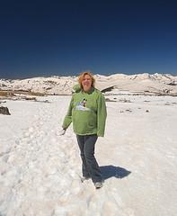 S.E. Schlosser at 12,000 feet