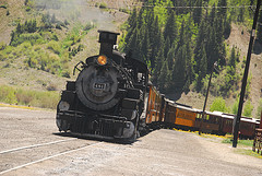 Durango-Silverton train