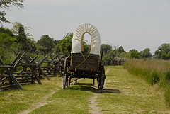 Replica of wagon - Walla Walla