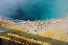 Colorful Hot Spring at West Thumb, Yellowstone National Park